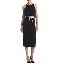 Tommy Hilfiger® Sleeveless Belted Midi Dress