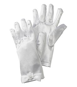 Gerson Girls' Satin Gloves