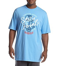 Chaps® Men's Big & Tall Short Sleeve Graphic Tee