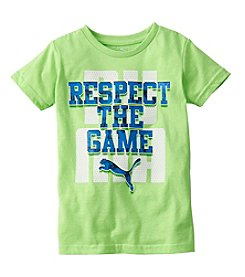 PUMA® Boys' 4-7 Short Sleeve Respect The Game Tee