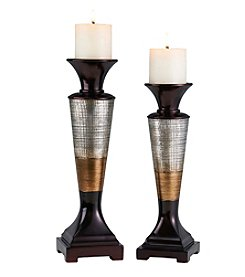 Ore International™ Naomi Candleholder Set