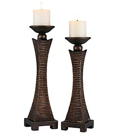 Ore International™ Kayan Candle Holder Set