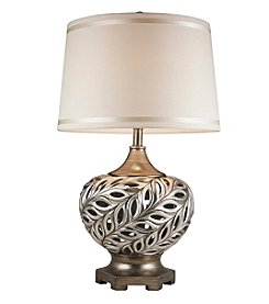 Ore International™ Kiara Silver Table Lamp