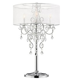 Ore International™ Evangelia Crystal Table Lamp