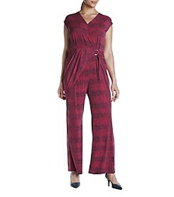 MICHAEL Michael Kors® Plus Size Wrap Jumpsuit