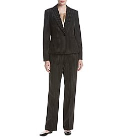 LeSuit® 3-Pc. Pinstriped Pantsuit