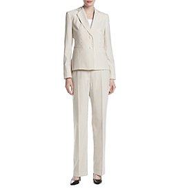 LeSuit® Striped Seersucker Pantsuit