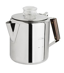 Tops Rapid Brew 2 Stainless Steel 6-Cup Percolator