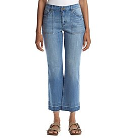Jones New York® Cropped Bell Leg Jeans