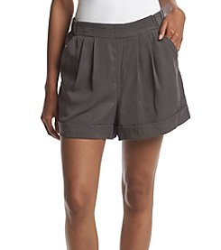 Chelsea & Theodore® Pleated Cuff Shorts
