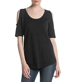 Jeanne Pierre® Cold Shoulder Top