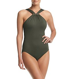 MICHAEL Michael Kors® High Neck One Piece