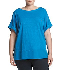 Jones New York® Plus Size Wide Neck Dolman Sleeve Tee