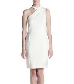 Calvin Klein Halter Cut Out Dress