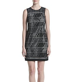 Calvin Klein Laser Cut Out Dress