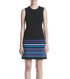Calvin Klein Striped Hem Dress