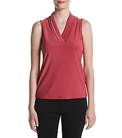 Anne Klein® Brenton Pleat Tank