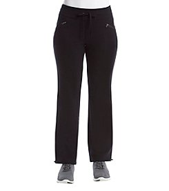 Exertek® Petites' Zip Pocket Pants