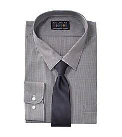 Alexander Julian® Dress Shirt And Tie Set