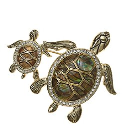Napier® Box Turtles Duo Pin