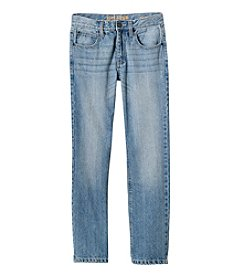 Ruff Hewn Boys 2T-18 Straight Rigid Denim Jeans