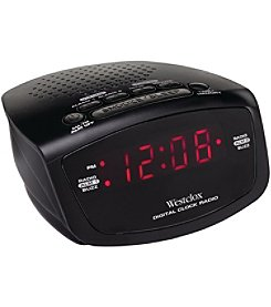 Westclox  Led Alarm Clock Radio