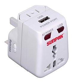 Sunpak Universal Travel Adapter