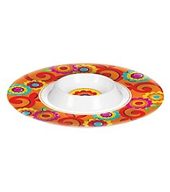 Fiesta Chip and Dip Bowl