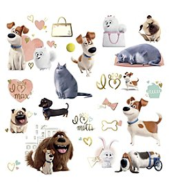 Secret Life of Pets Girls Wall Decals