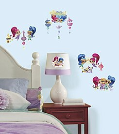 Shimmer and Shine Wall Decals with Glitter