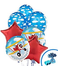 Airplane Adventure Set of 10 Balloons Bouquet Kit