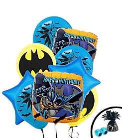 Batman™ Set of 10 Happy Birthday Balloons Bouquet Kit
