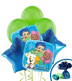 Bubble Guppies Set of 10 Balloons Bouquet Kit