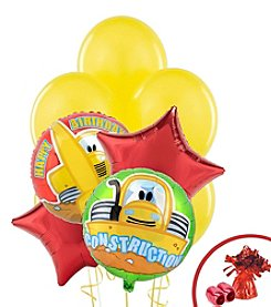 Construction Pals Set of 10 Birthday Balloons Bouquet Kit