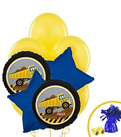 Construction Party Set of 10 Balloons Bouquet Kit