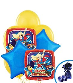 DC® Super Hero Girls Set of 10 Birthday Balloons Bouquet Kit