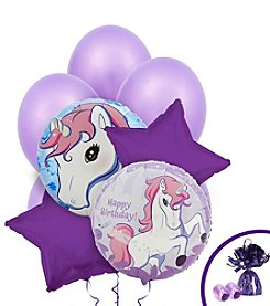 Enchanted Unicorn Set of 10 Birthday Balloons Bouquet Kit