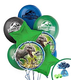Jurassic World Set of 10 Balloons Bouquet Kit