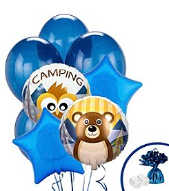 Let's Go Camping Set of 10 Balloons Bouquet Kit