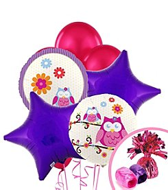 Owl Blossom Balloon Bouquet