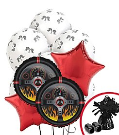 Racecar Racing Party Balloon Bouquet
