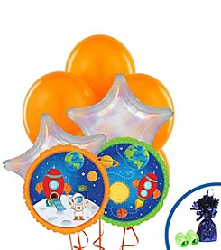 Rocket to Space Party Balloon Bouquet