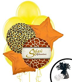 Safari Animal Adventure Balloon Bouquet