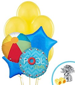 Splashin Pool Party Balloon Bouquet