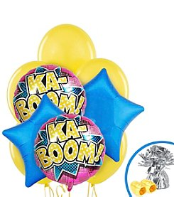 Superhero Girl Party Balloon Bouquet