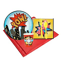 Superhero Comics Party 8 Guest Party Pack