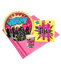 Superhero Girl Party 8 Guest Party Pack