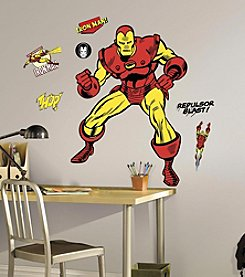 Iron Man Comic Wall Decals