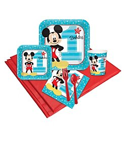 Disney® Mickey Mouse® 1st Birthday 16 Guest Party Pack