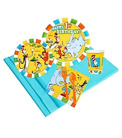Dr. Seuss 1st Birthday 16 Guest Party Pack